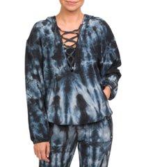 hurley dawn patrol lace-up hoodie