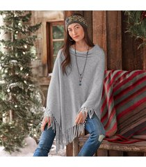 homefires cashmere poncho