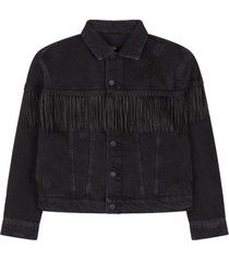 denim jacket fringes 198425381-999