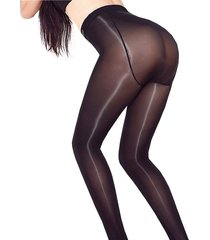 high shiny elasticity glossy oil sheer stockings see through tights pantyhose