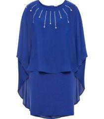 abito con mantella (blu) - bodyflirt