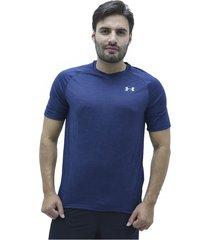 camiseta azul under armour ua tech 2.0 v