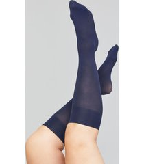 lane bryant women's solid trouser socks 2-pack onesz dark water