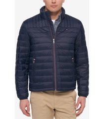 tommy hilfiger men's big & tall packable down puffer coat