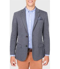 blazer de punto azul arrow