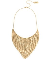 jessica simpson disco mesh necklace