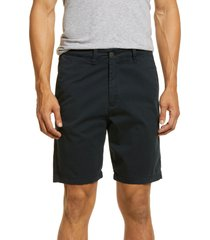 dl1961 jake slim fit chino shorts, size 30 in oxford navy (ultimate twill) at nordstrom