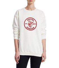 you're enough cotton sweatshirt