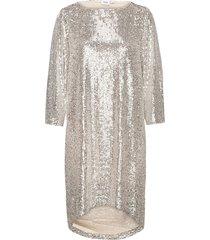 dianasz 3/4 dress jurk knielengte goud saint tropez