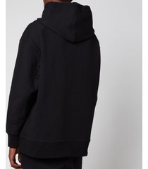 y-3 men's classic chest logo hoodie - black - xl