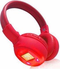 audifonos bluetoooth fm microsd diadema hd high sound- negro