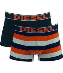 diesel boxershorts shawn 2-pak oranje