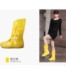 botas para lluvia bearcat amarilla