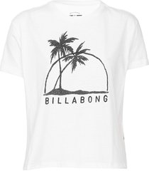 blusa billabong come at me branca - kanui