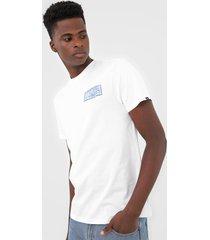 camiseta vans tow in branca