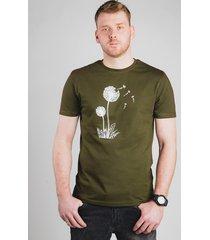 bawełniany t-shirt z nadrukiem - przemijanie