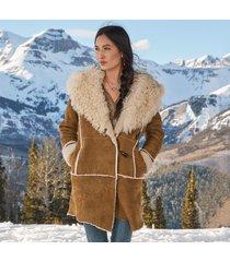 gwyneth shearling coat