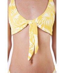 bikini amarilla o neill tropical