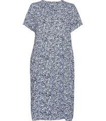 frvaleaf 4 dress jurk knielengte blauw fransa
