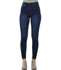 jeans tiro alto high waist skinny 3092 azul amalia jeans