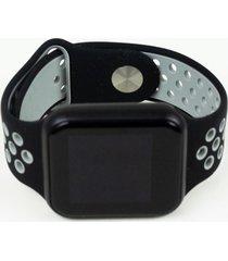 relógio smartwatch fitgear skill pro cinza