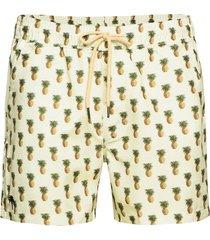 pina colada swim shorts zwemshorts geel oas