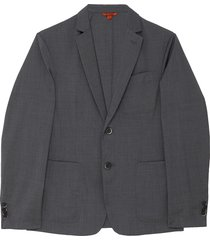 'borgo tela' notch lapel wool blazer