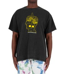 syd short sleeve tee - anthracite