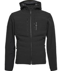 fusion hybrid hood outerwear sport jackets svart sail racing