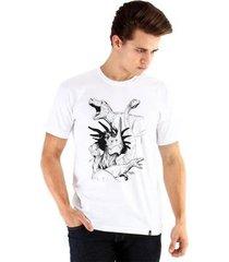 camiseta ouroboros dinossauros masculina