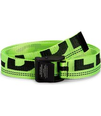diesel men's b-maser adjustable belt - lime green - size 100 (40)