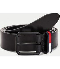 tommy hilfiger men's flag casual belt black - 36