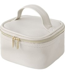 cathy's concepts personalized pebble polyurethane travel jewelry case