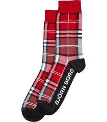 bjorn borg sokken utopia check rood