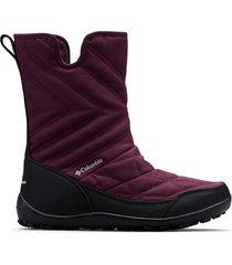 botas violeta black cherry columbia minx slip iii