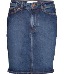 pamela skirt 11358 kort kjol blå samsøe samsøe