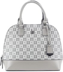 london fog women's tulip signature satchel