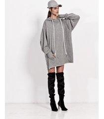 bluza big hoodie