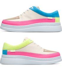 camper twins, sneakers mujer, beige/rosa/amarillo, talla 42 (eu), k200866-009