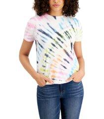 belle du jour juniors' tie-dye pocket t-shirt