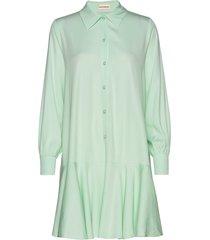 fryd korte jurk groen custommade