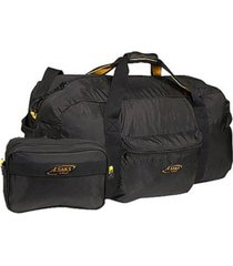 """a. saks 30"""" duffel bag with pouch"""