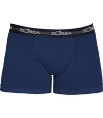 cueca boxer zorba algodão max 702 azul marinho
