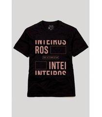 camiseta inteiros que se completam reserva - masculino