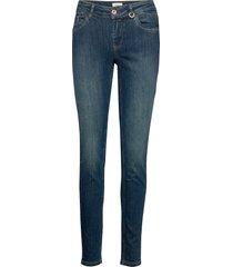 pzanna jeans slimmade jeans blå pulz jeans