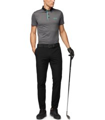boss men's paule pro 1 slim-fit golf polo shirt