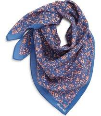 women's madewell bandana, size one size - blue