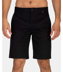 hurley men's one & only stretch chinco 21""