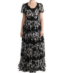 floral lace shift jurk