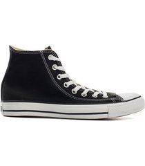 converse all star canvas hi sneakers svart